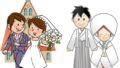 挙式スタイル 教会式と神前式